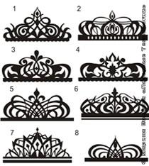 Эскизы корон