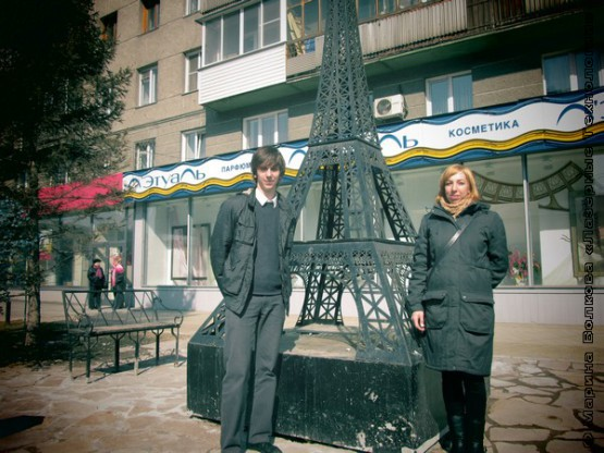 Эйфелева башня в Новосибирске
