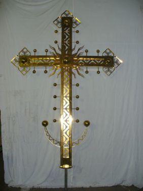 Крест, титановое покрытие