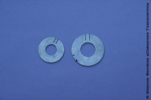 Кольца с прорезью