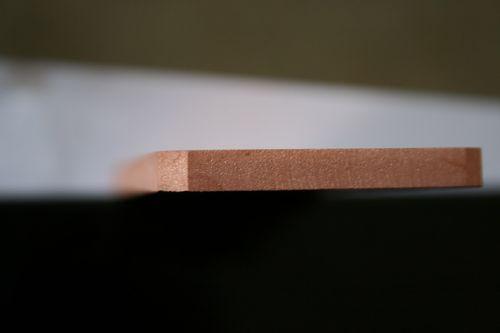 Медь 6 мм. Гидрорезка