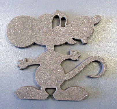 Керамика, мышь- восточный символ 2008 года