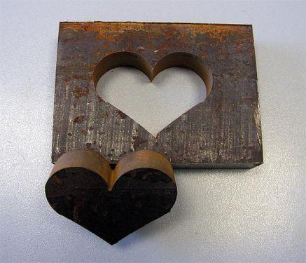 Сердце, толстый металл