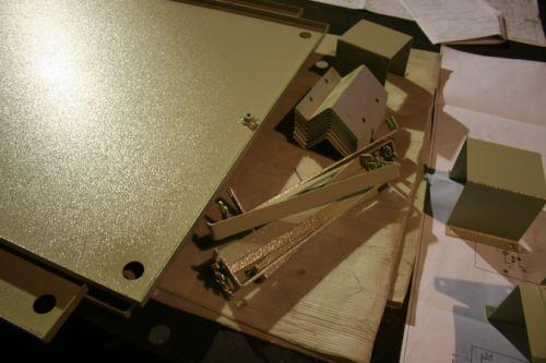 Детали для шкафа металлического