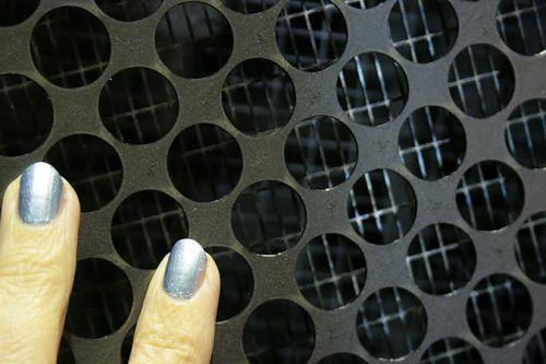 Решетка с крупными ячейками