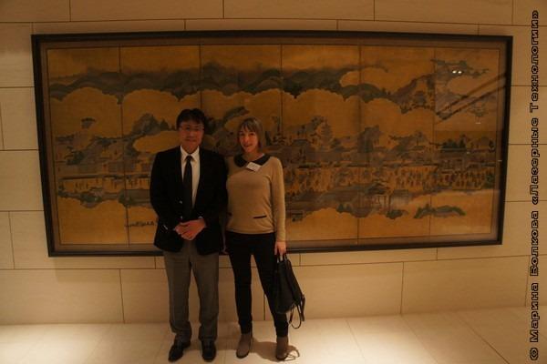 Хидехиса Такахаши босс AMADA в Германии и директор ООО Лазерные технологии Волкова Елизавета