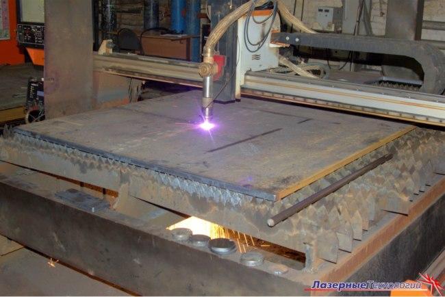 Плазменная резка металла в Челябинске - ООО Лазерные технологии